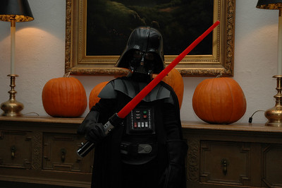 Jack as Darth Vader at Shell's Party