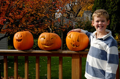 Will with Pumpkins