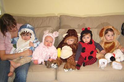 Ryan, Lizzie, Colin, Maya and Harrison