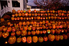 "Jack-o-Lanterns at ""The Steeple"", Delafield, Wisconsin"
