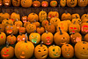Jack-o-Lanterns Carved by Children, Delafield, Wisconsin