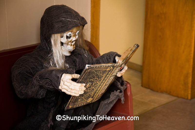Grim Reaper Waiting, Filmore County, Minnesota