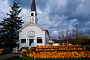 "Pumpkins at ""The Steeple"", Delafield, Wisconsin"