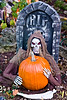 Halloween Skeleton, Dane County, Wisconsin