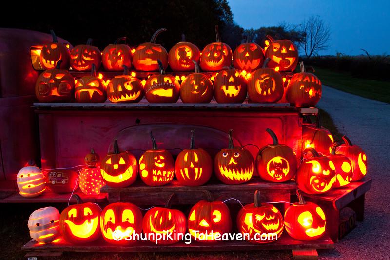 Halloween Truck, Green County, Wisconsin