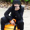 ninja contemplating life