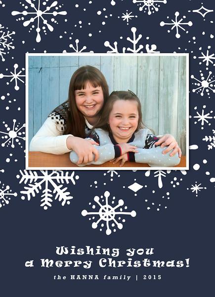 Hanna Family-  Christmas Card