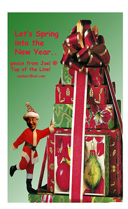 Hey Now..Hoopy Holidaze & Happy New Year, Peace & Love, Joel
