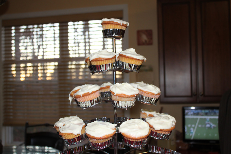 My Annual Cupcake contribution, the said they were the bomb