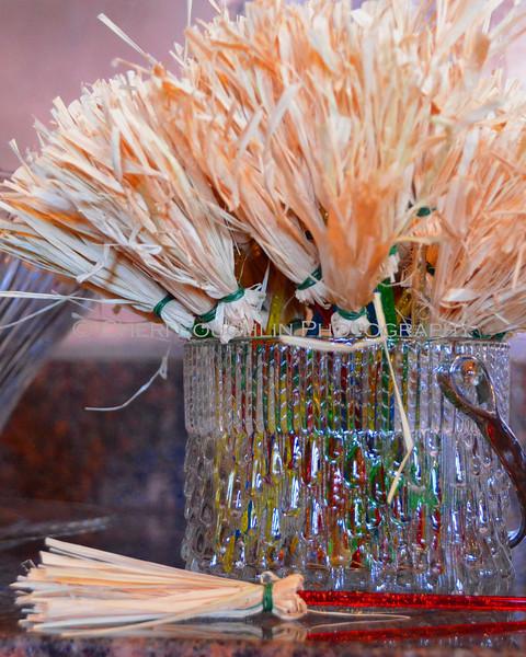 Broom Stick Cocktail Stirrers
