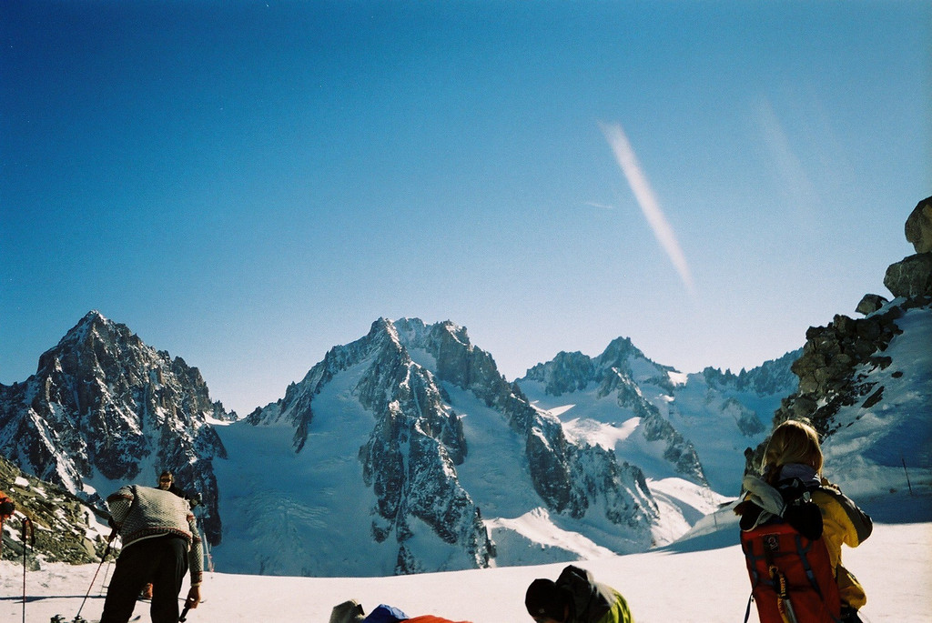 Day 1 001 Top of Grands Montets