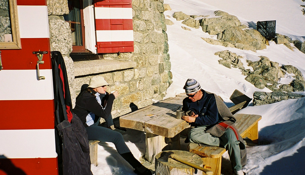 Day 1 018 Sarah and Mark at Refuge