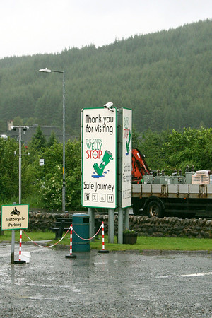 Green Welly Stop at Tyndrum 6 July 2011