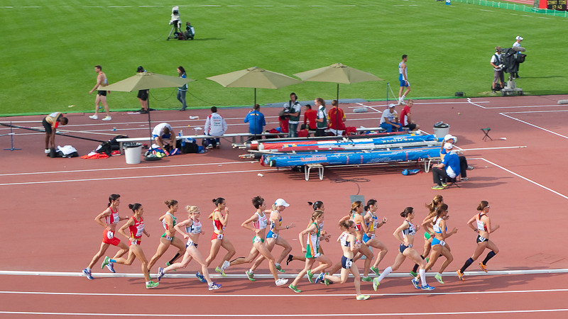 Women's 10,000m, European Athletics Championships 2012, Helsinki, Finland