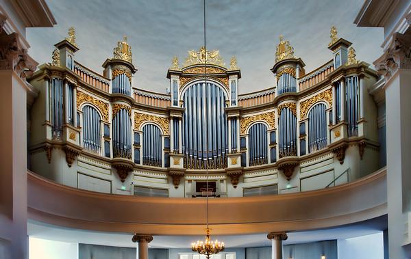 Organ, Lutheran Cathedral, Helsinki, Finland