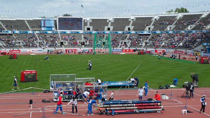 European Athletics Championships 2012, Helsinki, Finland