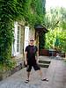 Met een eigen terras voor onze deur, niet gek :-)