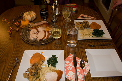 Our Thanksgiving spread
