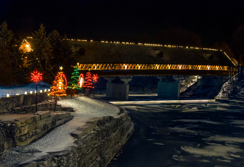 Holz Brucke; Frankenmuth, Michigan