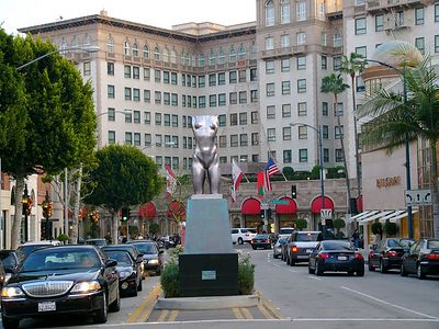 Rodeo Drive & Wilshire Blvd