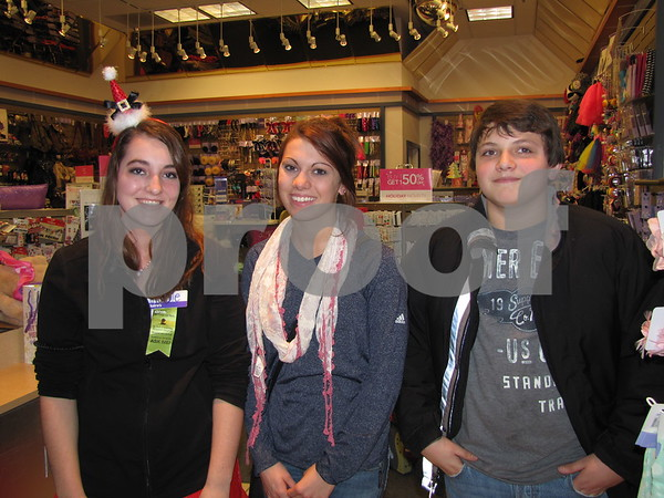 Nicole Essing, and Megan and Dylan Delp