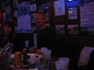 Celebrating the New Year at Lew's Bar and Grill - Dan breaks it down.