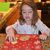Preparing cookies for Santa.