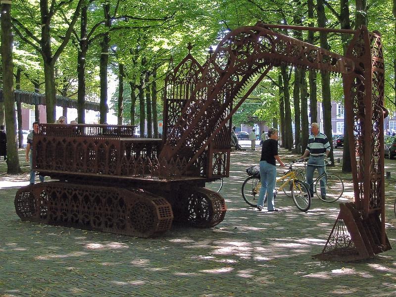 digger open air art