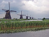 windmills, all in a line