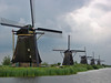 receeding windmills