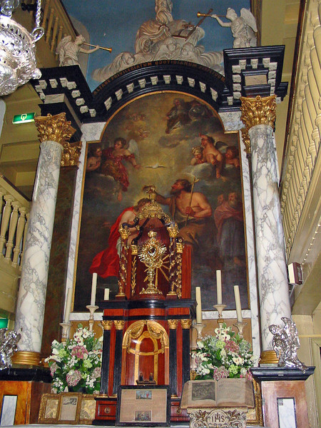 my lord in the attic altar
