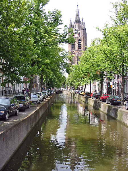 canal at delf