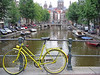typical waterway, with bike