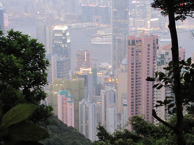 HK from The Peak at Night