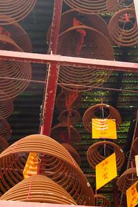Incense coils at a monetary.