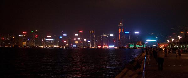 Hong Kong Island lights