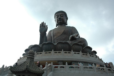 "While in Hong Kong, we took a ferry to Lantau Island and went to visit the ""Big Budda"" in Ngong Ping"