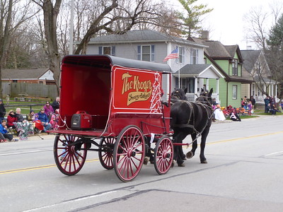 Horse Drawn Carriage Parade - Lebanon, OH - 3 Dec. '16