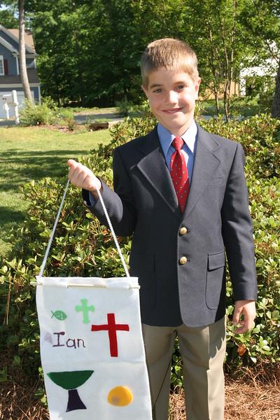 Ian's First Communion