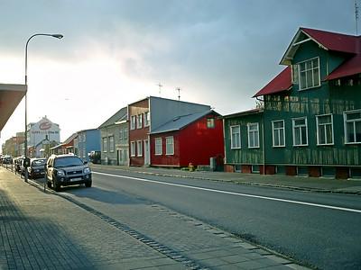 Reykjavík back street
