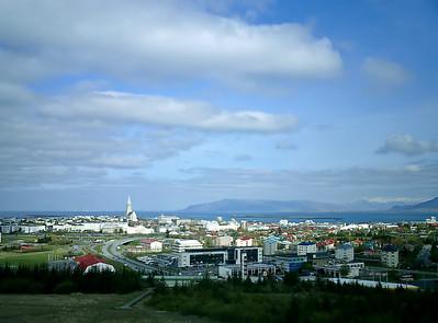 Reykjavík from Perlan