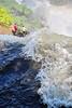Iguassu Falls - Argentinian Side - Upper Rim of Falls 422