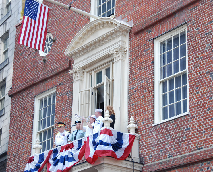 Annual reading of the Declaration of Independence at the Old State House