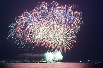 Grosse Pte Yacht Club Fireworks (10)