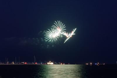 Grosse Pte Yacht Club Fireworks (9)