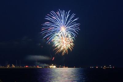 Grosse Pte Yacht Club Fireworks (6)