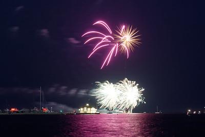 Grosse Pte Yacht Club Fireworks (11)