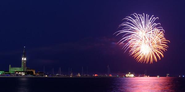 Grosse Pte Yacht Club Fireworks (4)
