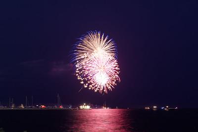 Grosse Pte Yacht Club Fireworks (8)