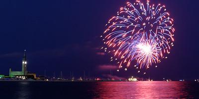 Grosse Pte Yacht Club Fireworks (3)
